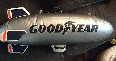 "Vintage Goodyear Blimp Inflatable Blow Up 30"" Store Display balloon"