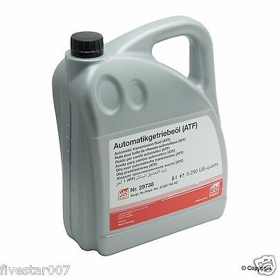 5 Liters ATF1 Automatic Transmission oil Fluid Febi ATF ESSO LT 71141 for BMW