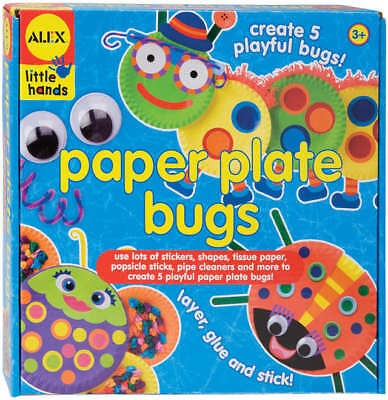 Paper Plate Bugs Kit  1415