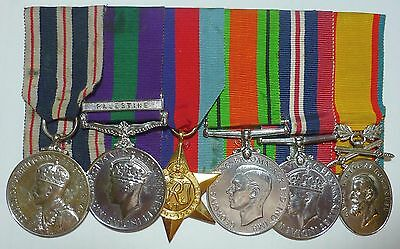King's Police Medal Group to British Police Constable in Palestine Police 1936