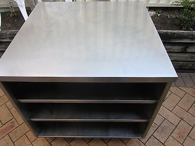 Commercial Heavy Duty Stainless Steel  Cabinet Bench Stand