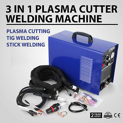Tig Machine Welding Inverter Welder Mma 220V Ac Dc Aluminium Pulse Cut CT-520D