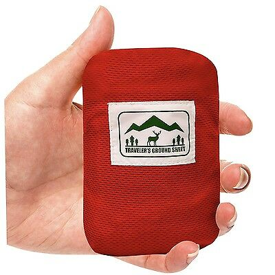 """""""Pocket Blanket"""" for Hiking, Camping, Beach and Picnic , Compact Storage Pouch"""