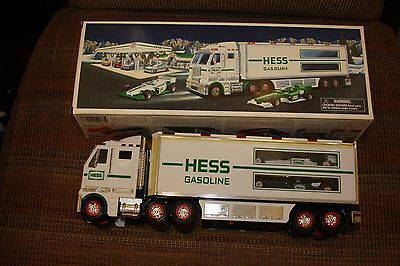 2003 Hess Toy Truck and Race Cars