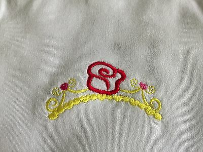 Bodysuit, Embroidered baby one piece, Embroidered Bunny's,Unisex Romper Size 000