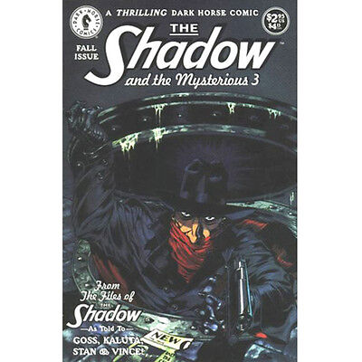 The Shadow and the Mysterious 3 - Dark Horse Comics -1994 VF/NM