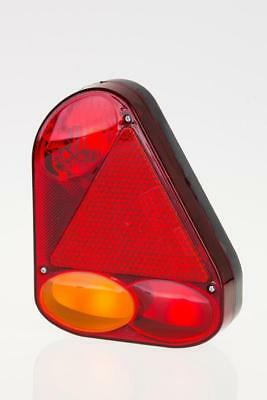 5 function right rear tail lamp light trailer triangular reflector