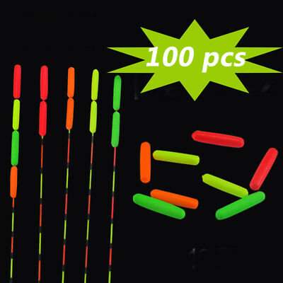 100Pcs Fishing Float Stops For Bobber Line Grips Floater Carp Tackle Gear