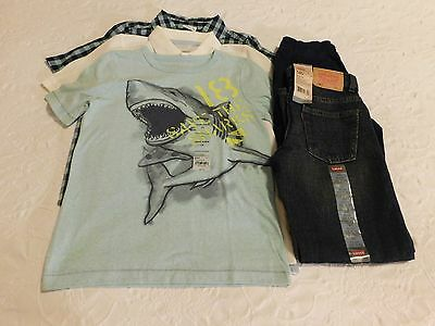 Boys Clothes Size 7X Lot School Shirts Jeans Pants NWT Brand New Retail $120
