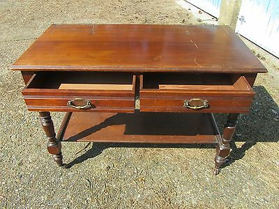 Vintage late Victorian/Early Edwardian Mahogany dressing table
