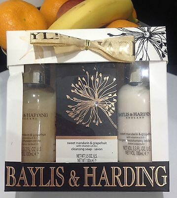Baylis & Harding Sweet Mandarin And Grapefruit Trio Gift set
