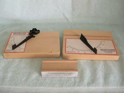 Miter Saw Precision Sawing Tool Fine Woodworking Fourmost #153 and #154