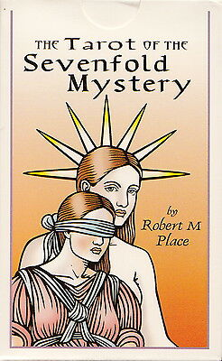 The Tarot of the Sevenfold Mystery Deck by Robert Place Brand New!