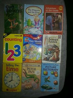 Vintage ladybird books  good collection