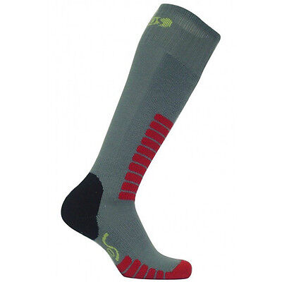 Eurosocks 0412J Child Ski Supreme Junior Socks, Grey, XXX-Small