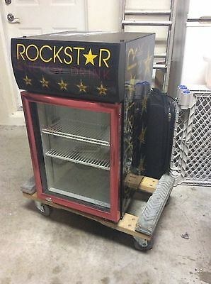 Rockstar Drink Cooler .  Great For theater Or Man Cave.  Pickup Only