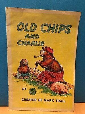 """1954 """"OLD CHIPS and CHARLIE by ED DODD - COCA-COLA COMPANY"""