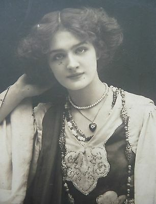 Edwardian Actress Miss Lily Elsie Postcard Posted London W.c (39) 1904