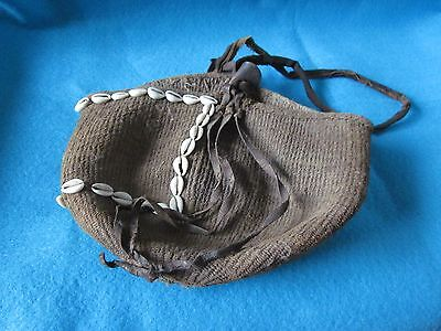 Rare Authentic Native American Woven Sally Bag 1890-1910