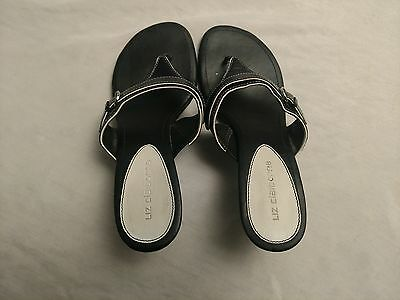 Very Nice, Pre-Owned Pair of Liz Claiborne Women's High Heels / Sandals- Size 7M