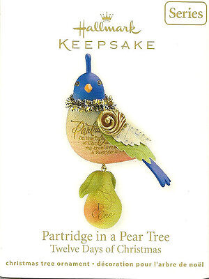 HALLMARK 2011~ PARTRIDGE IN THE PEAR TREE 1ST  THE TWELVE DAYS of Christmas