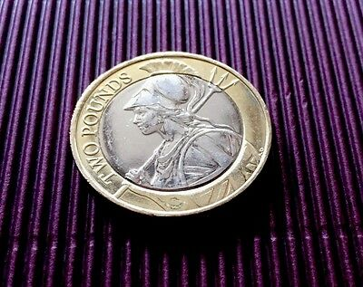 Royal Mint 2016 Britannia £2 Two Pound Coin UNC Condition from Sealed Bag