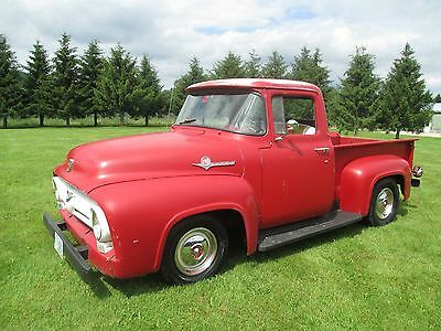 1956 Ford F-100 truck 1956 ford f100