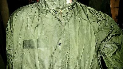 vintage m65  FISHTAIL PARKA vietnam era jacket never worn DEADSTOCK size MED