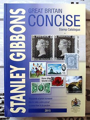 Great Britain – Stanley Gibbons Great Britain Consice Catalogue 2015 RRP £34,99