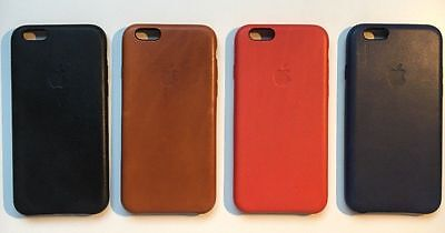 Genuine Apple iPhone 6-6s Leather Case