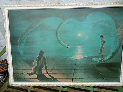 Wings of Love D Pearson framed print COLLECTION ONLY S.WALES