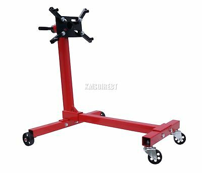 Heavy Duty Swivel Transmission Gearbox Engine Mount Support Stand 1000 lbs 450kg
