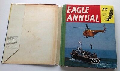 Eagle Annual 1962 with dust jacket good condition