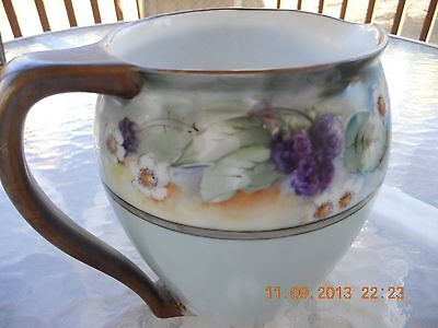 """Antique Vintage 6-3/4"""" Tall Beautiful Pitcher IMPERIAL PSL - Austria Great Color"""
