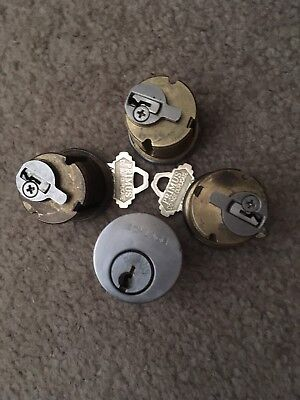Lot Of 4ct High Security Schlage Primus CP Mortise Cylinders 26d AR Cam