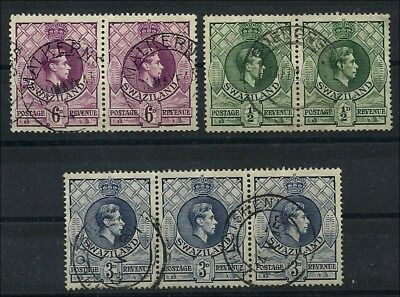KGVI  def's  with postmarks