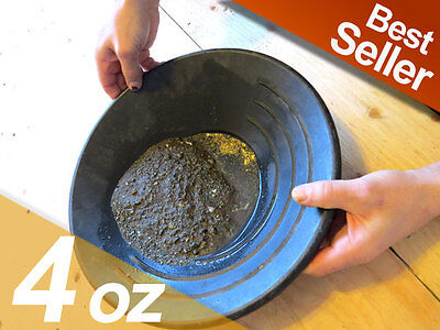 4 Oz BERING SEA GOLD TV SHOW-GOLD PANNING PAYDIRT  4 Oz