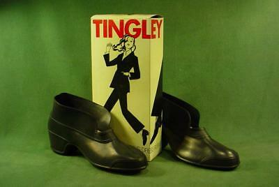 Vintage Tingley Rubber Shoe Covers Womens Black Sz 5 1/2 - 7  New Old Stock