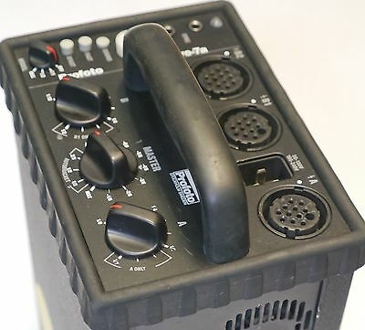 Used Profoto 7A 2400ws Strobe pack with AC and Sync Cord