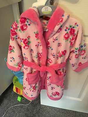 Baby Girls Dressing Gown