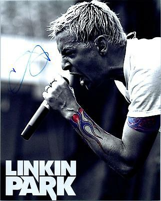 Chester Bennington autographed 8x10 Picture signed Photo with COA