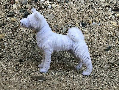 Handmade PipeCleaner Dog - Unique Design - One of a Kind - Akita #2