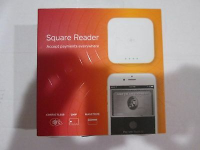 Square Contactless, Chip and Magstripe Card Reader A‑SKU‑0113-03 NEW OPEN BOXED