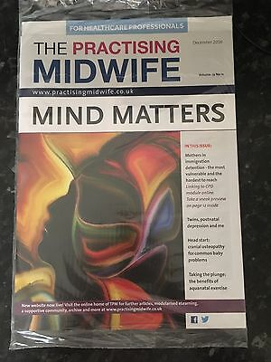 "Midwifery Journal ""The Practicing Midwife"" Dec 2016 Edition Brand New & Sealed"