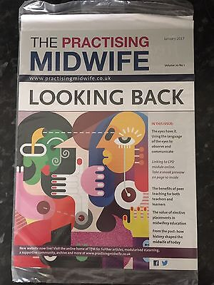 "Midwifery Journal ""The Practicing Midwife"" Jan 2017 Edition Brand New & Sealed"