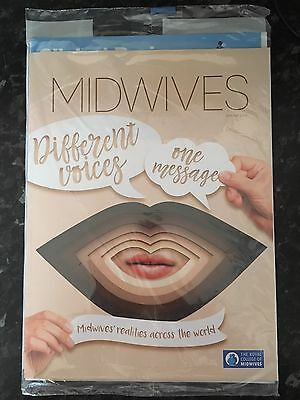 "Midwifery Journal ""MIDWIVES"" RCM Royal College Spring 2017 Edition Brand New"