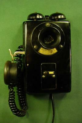 VINTAGE ANTIQUE 1930s WESTERN ELECTRIC INTER WALL TELEPHONE NO DIAL