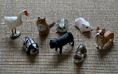 Lot of Eight 8 New JAPAN KAIYODO FURUTA Choco Egg Animal Pet Miniatures Series 2
