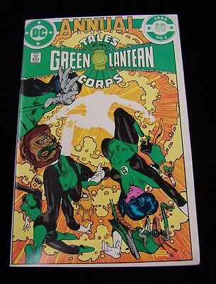 Tales of the Green Lantern Corps Annual #  1 by DC Comics (1985)