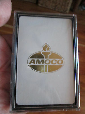 Vintage AMOCO Advertising Playing Cards NEW VINTAGE FACTORY SEALED